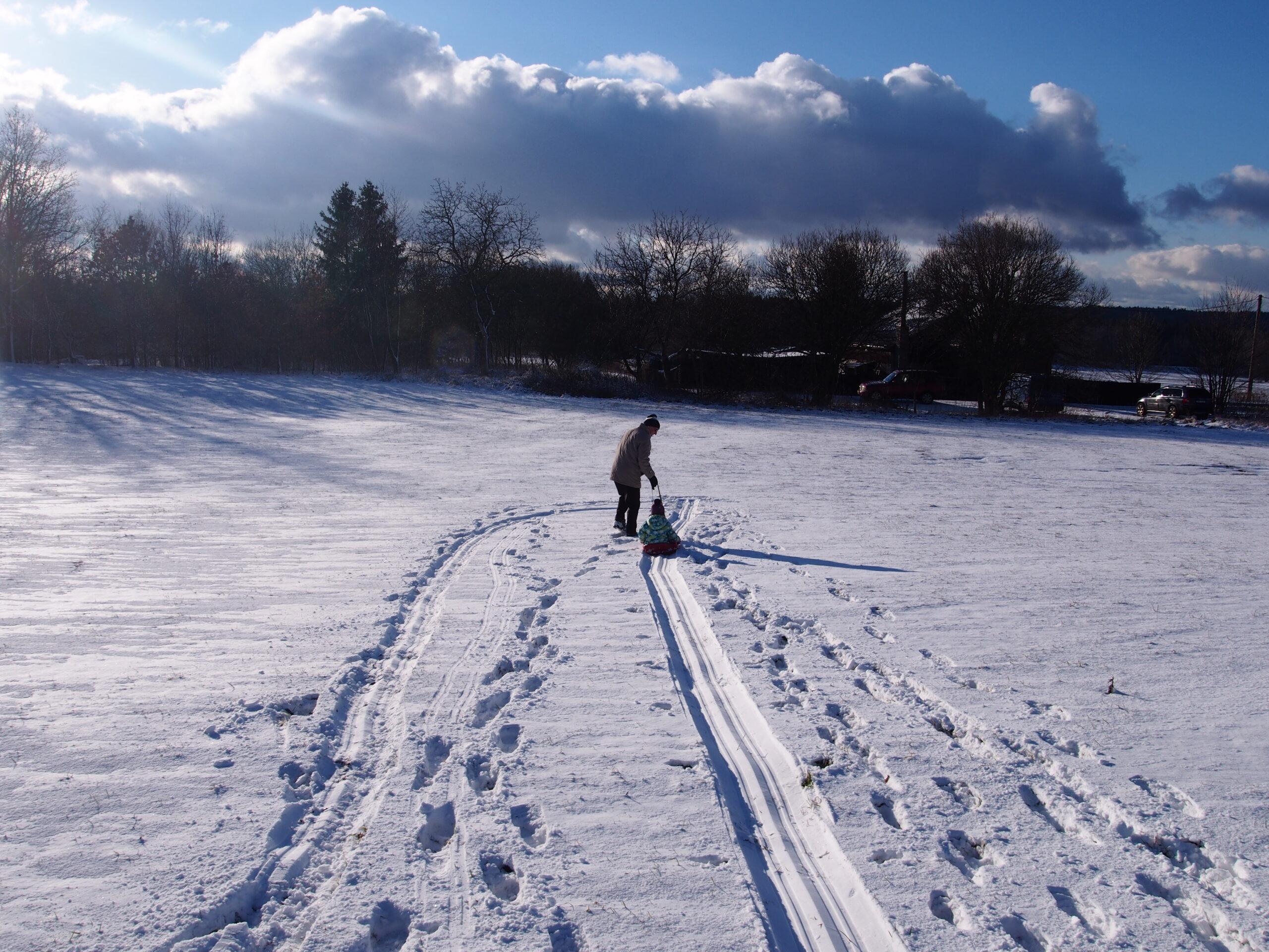 Jak jsem po třicítce znovu objevila kouzelnou moc, jakou má jen čerstvě napadaný sníh